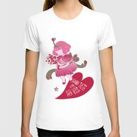 princess bubblegum T-shirts featuring Princess Bubblegum Love potion by Miss Pepper Cat