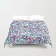 Thrifted Linen Lavender Duvet Cover