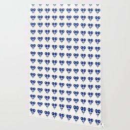 Flag of quebec 4– Canada, montreal,Saint Laurent,Quebecois,belle province, trois rivières. Wallpaper