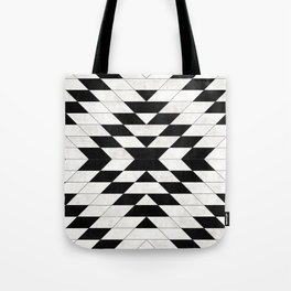 Urban Tribal Pattern No.15 - Aztec - White Concrete Tote Bag
