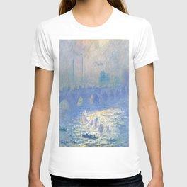 Claude Monet's Waterloo Bridge T-shirt