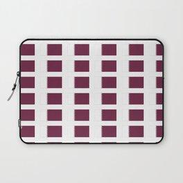 flag of qatar-qatar,Qatari,Doha,Al khawr,الدوحة Laptop Sleeve
