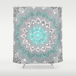 Bubblegum Lace Shower Curtain