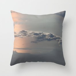 Sailing the Clouds Throw Pillow
