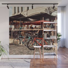Afternoon drink Wall Mural