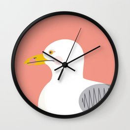 Wildlife Prints - Seagul Wall Clock