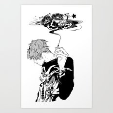 Blackthorn Art Print