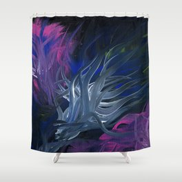 Entwined in Darkness Shower Curtain