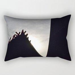 Towering Structures Rectangular Pillow