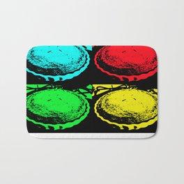 Pop Art Cherry Pie Bath Mat