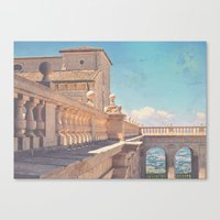 castle in the sky Canvas Prints featuring Castle In The Sky by ZBOY