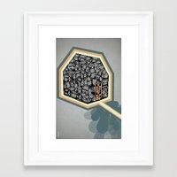 community Framed Art Prints featuring Community by Scott Erickson