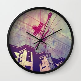 Wires Wall Clock