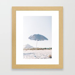 Vacation Framed Art Print