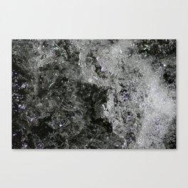 River Foam Canvas Print