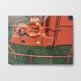Srockboat Metal Print
