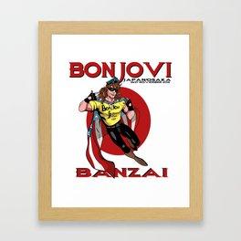 Bon Jovi Japan Framed Art Print
