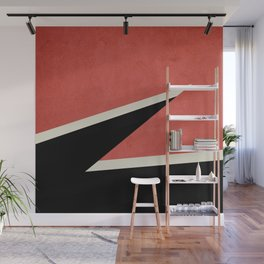 Three colors geometry Wall Mural