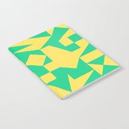 English Square (Yellow & Green) Notebook
