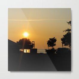Newport News Sunset Metal Print
