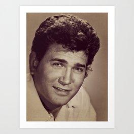 Michael Landon, Hollywood Legend Art Print
