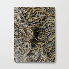 Tree Killing Caterpillars Metal Print