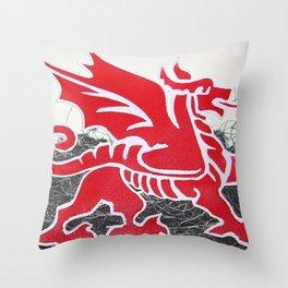 Cymru Throw Pillow