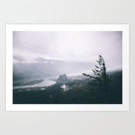 Columbia River Gorge VI Art Print