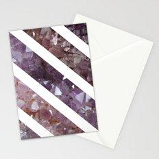 IPHONE: StripedSquareGEO Stationery Cards