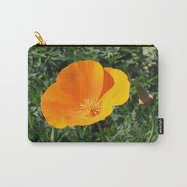 Golden Beauty. California Poppy. © J. Montague. Carry-All Pouch