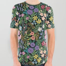 Imaginary field All Over Graphic Tee