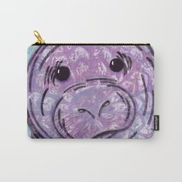 Abstract Manatee Carry-All Pouch