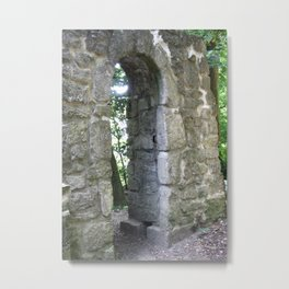 Ruins of Asseburg Metal Print