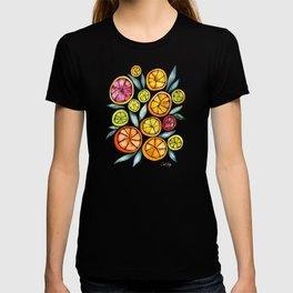 Sliced Citrus Watercolor T-shirt