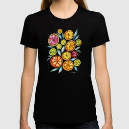 Sliced Citrus Watercolor T-shirt