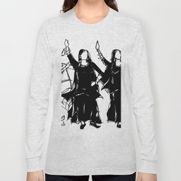 Punjabi girls poster Long Sleeve T-shirt