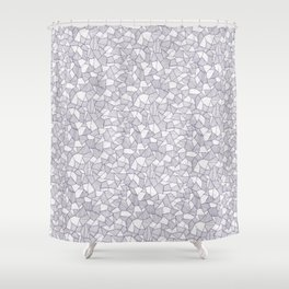 Forms Shower Curtain