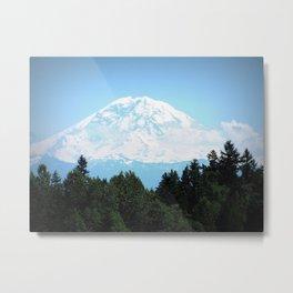 The Rock • Mount Rainier • Washington Metal Print
