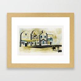 Dawson City of Gold Framed Art Print