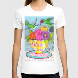 hummingbird tea T-shirt