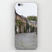edinburgh iPhone & iPod Skins featuring Edinburgh street by RMK Creative