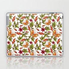 Butterflies on the leaves Laptop & iPad Skin