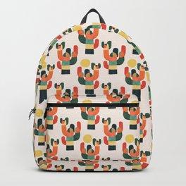Cactus in the desert Backpack