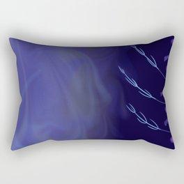 A Weird Wind Blows Rectangular Pillow