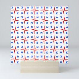 symmetric patterns 107 Mini Art Print