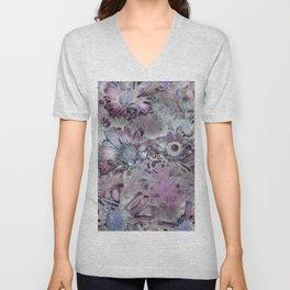 Amazing Metal Flowers Unisex V-Neck