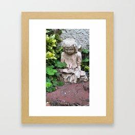 Story Angel Framed Art Print