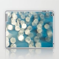 Blue sparkles Laptop & iPad Skin