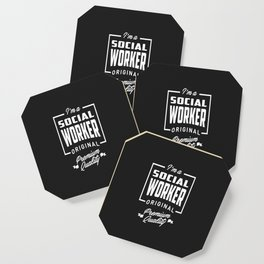 Gift for Social Worker Coaster