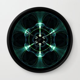 Biological Sphere 1 Wall Clock